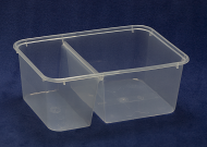 1000ml Food Container (2-in-1)